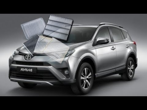 how to change air filter on 2011 toyota rav4