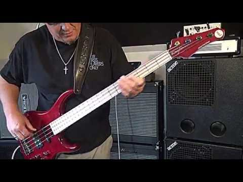 MTD Heir - flat wound strings/Ampeg PF50-T Tube rig - Andy Irvine