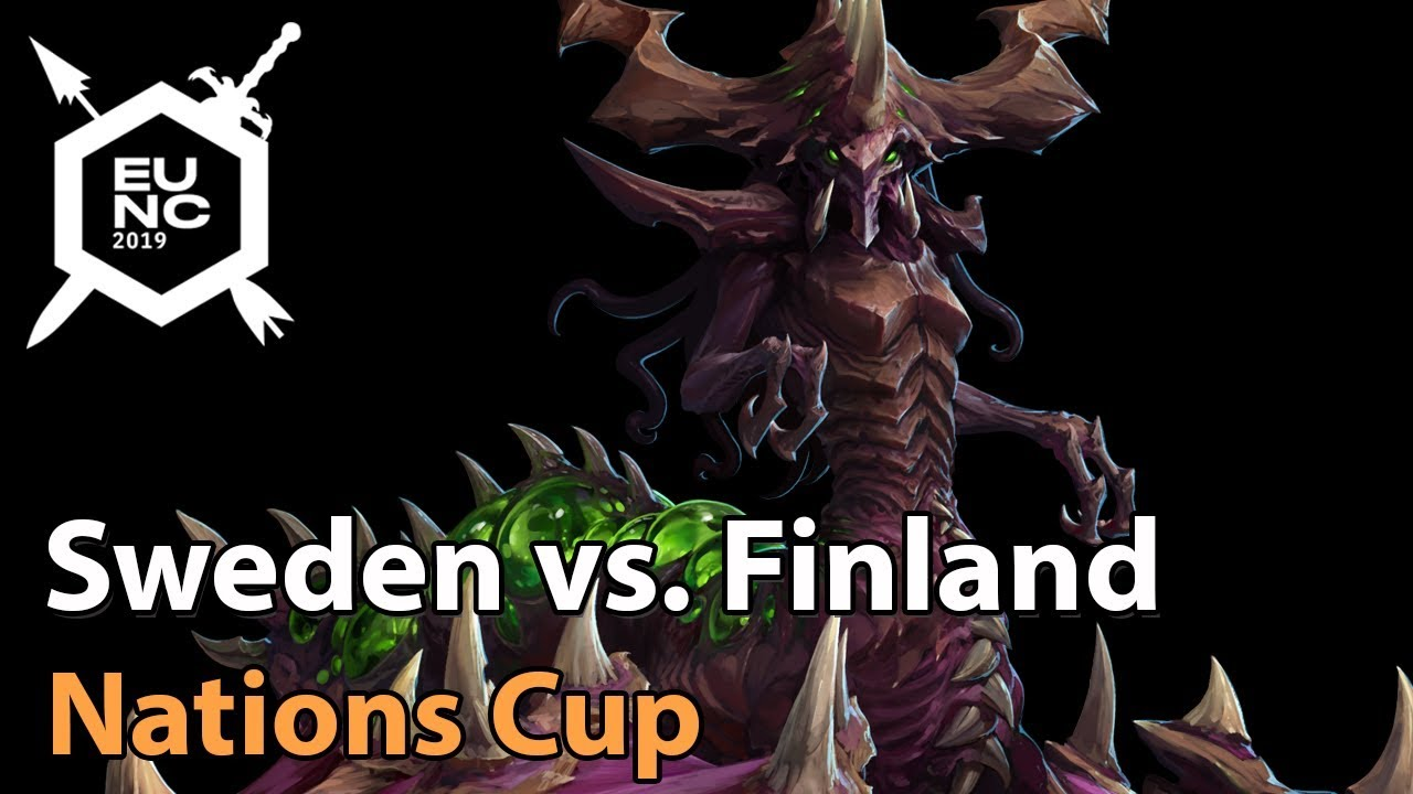 ► Sweden vs. Finland - Nations Cup Groupstage - Heroes of the Storm Esports