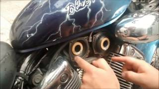 Come sostituire membrane carburatore virago 535 - How to replace diaphragm carbs on virago 535