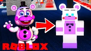 FNAF 6 IN ROBLOX Roblox Animatronic World HUGE Update! Freddy Fazbear's Pizzeria Simulator and More!