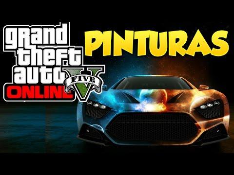 GTA 5 Online Pinturas Extrañas y Raras #5 Combinaciones de Colores Grand Theft Auto V Online