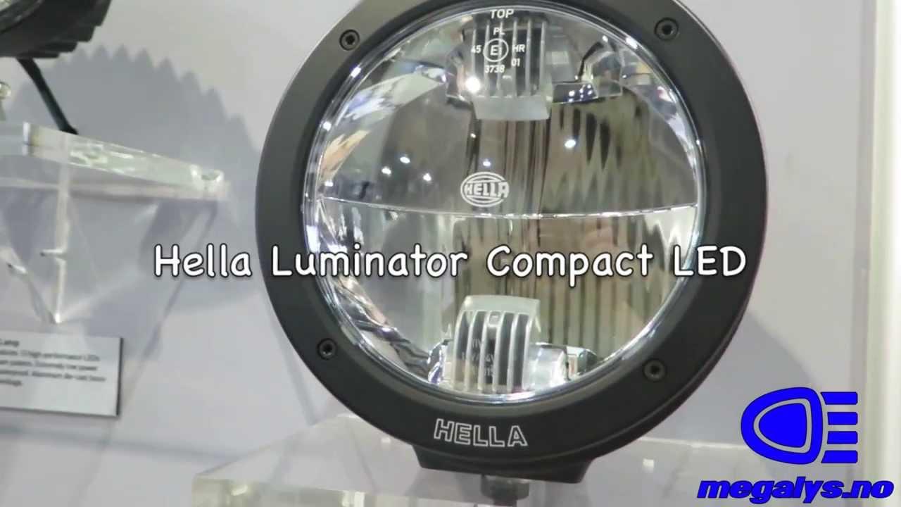 hella luminator compact led youtube. Black Bedroom Furniture Sets. Home Design Ideas