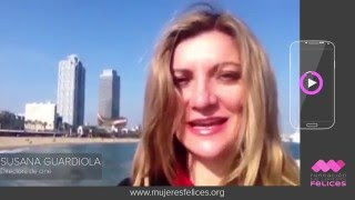 Susana Guardiola, Directora de cine - Fundación Mujeres Felices