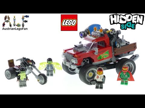 Lego Hidden Side 70421 El Fuego's Stunt Truck - Lego Speed Build Review