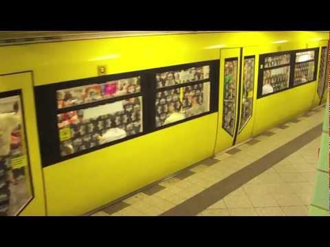 Die U-Bahn von Berlin - The Metro of Berlin 2009