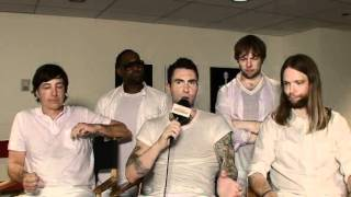 Maroon 5 Backstage at the Today Show 06 29 2012