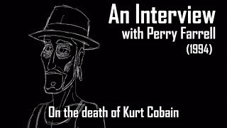 Perry Farrell Talks About Kurt Cobain (Radio.com Minimation)