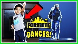 Fortnite Dances In Real Life (TODDLER EDITION)