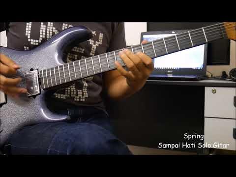 Spring Sampai Hati Solo Gitar