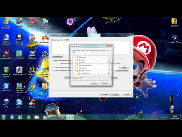 Emulador PlayStation 2 + Bios + VideoTutorial 2016 / PCSX2 1.0.0 (r5350)