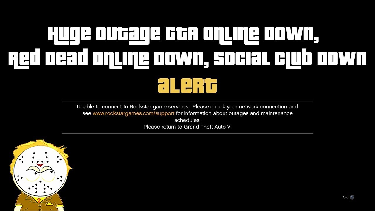 is gta v online currently down