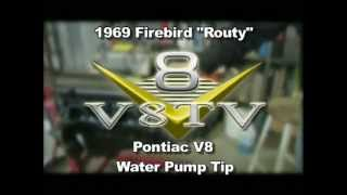 Pontiac 400 455 V8 Water Pump Modification Tip Video V8TV