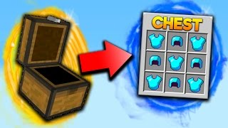 GOD CHESTS EVERYWHERE!! | Minecraft SOLO SKYWARS with PrestonPlayz