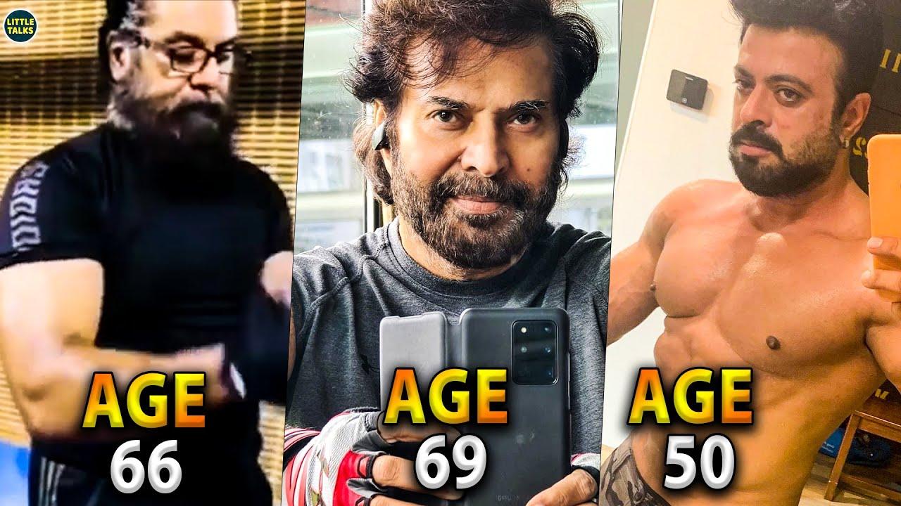 Download 50 வயதிலும் இப்படி ஒரு Fit-டா 😱   ஆச்சரியப்படுத்தும் Top நடிகர்கள்   Mammootty,Sarathkumar,Vikram