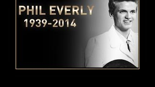 the late Phil Everly sings Edith Piaf * The Three Bells *