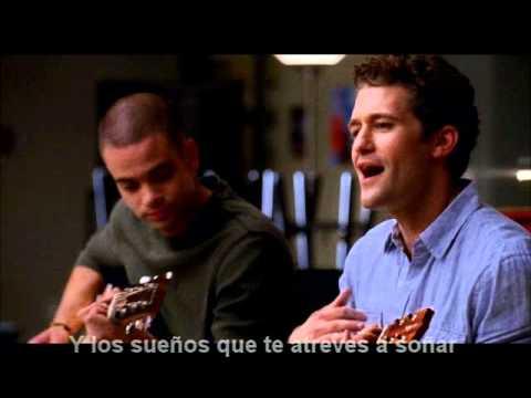 Glee-somewhere over the rainbow(subtitulos español)