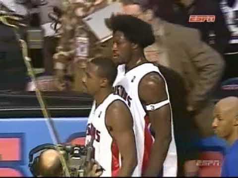 Pacers / Pistons Brawl (2004) Original