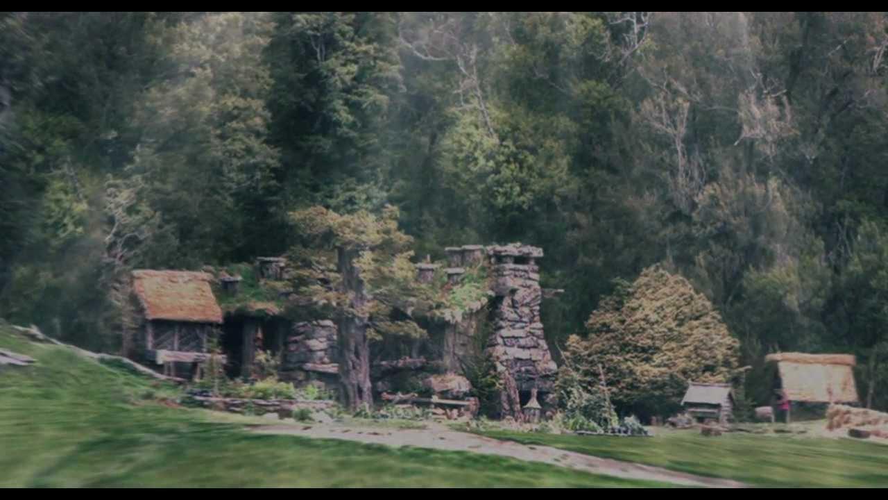 Hobbit Movie  Beorns Hall 3D  YouTube