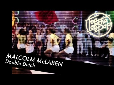 Malcolm McLaren and The Ebonettes - Double Dutch - Top of the Pops
