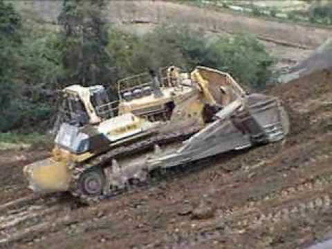 Large dozer long passes