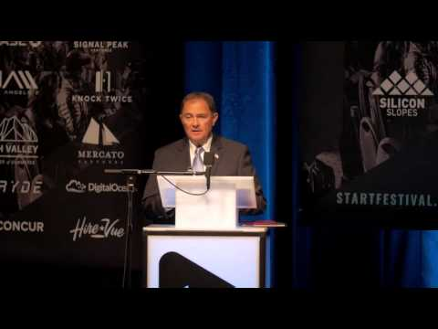 Governor Gary Herbert Speaks At StartFEST