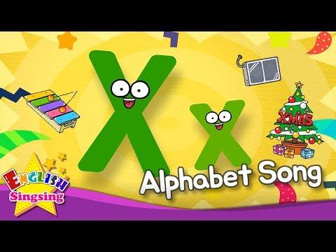 Alphabet Song - Alphabet 'X' Song - English Song For Kids