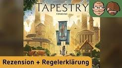 Tapestry - Brettspiel - Review und Regelerklärung