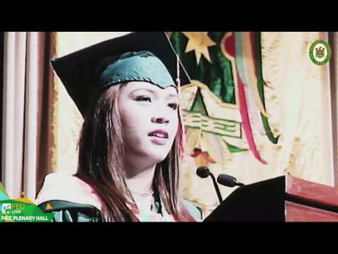 FEU 89th Commencement Exercises Valedictory Address: Michelle Alysson Guevarra