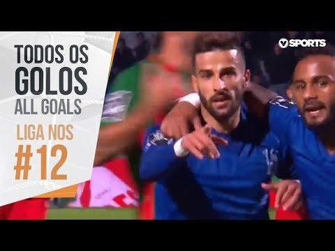 All goals - Portuguese league 2018/2019 - week 12