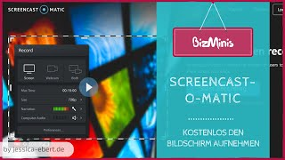Kostenloses Screencast Programm - Screencast-O-Matic vorgestellt