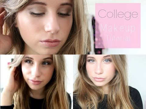 Everyday/College Makeup Tutorial // Phoebe Slee thumbnail