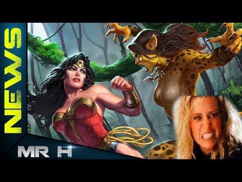 CHEETAH Stunt REVEALED In Leaked Set Video Wonder Woman 1984
