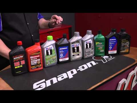 Choosing the correct engine oil is critical to engine life with Pat Goss from Goss Garage