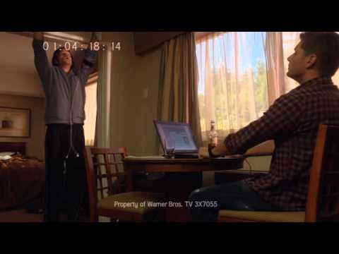 Jared Padalecki's Supernatural   Cutting Room Floor  Life In Motel Rooms