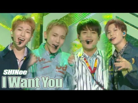 [Comeback Stage] SHINee - I Want You, 샤이니 - I Want YouShow Music core 20180616