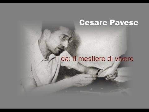 """Cesare Pavese da """"Il mestiere di vivere"""""""