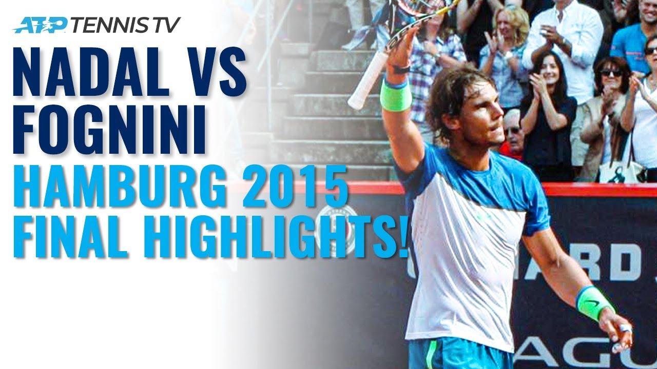 Rafa Nadal vs Fabio Fognini: Gripping Hamburg 2015 Final! | Classic Tennis Highlights