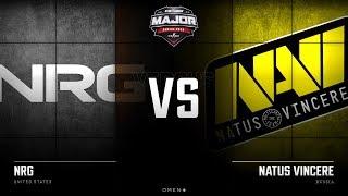 [RU] NRG vs Natus Vincere | Map 2 – Mirage | New Champions Stage | StarLadder Major 2019