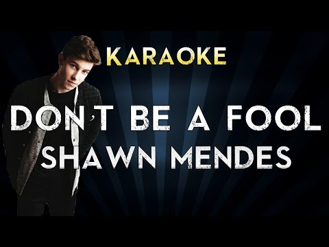 "Shawn Mendes - Don""t Be A Fool 