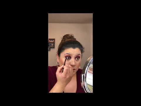 Maroon & Fuchsia Glitter thumbnail