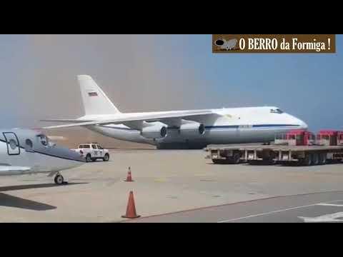 PERIGO! Cargueiro militar russo pousa na Venezuela - 23/03/2019