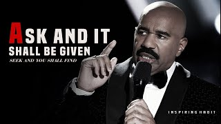 Steve Harvey Rags to Riches Testimony | You Have Not Because You Ask Not ask and it shall be given