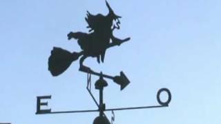Weathervane Veleta, Noche De Bruja, Hallowen