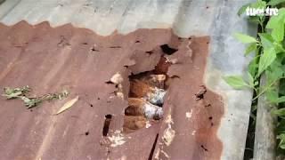 Phát hiện hầm đạn cối 'khủng' dưới chân đèo Bảo Lộc