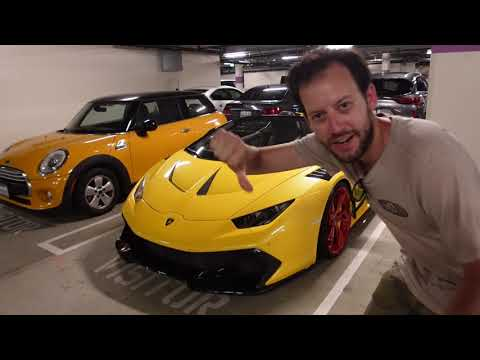 I Nearly Killed Myself in a 800 HP Supercharged Lamborghini