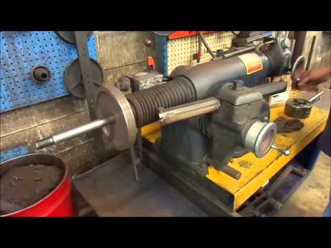 Ammco Brake Lathe >> Online Auction AMMCO Model 4100 Brake Lathe - YouTube