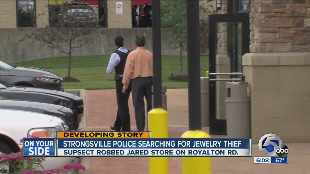 Armed robbery at Jared jewelry in Strongsville YouTube