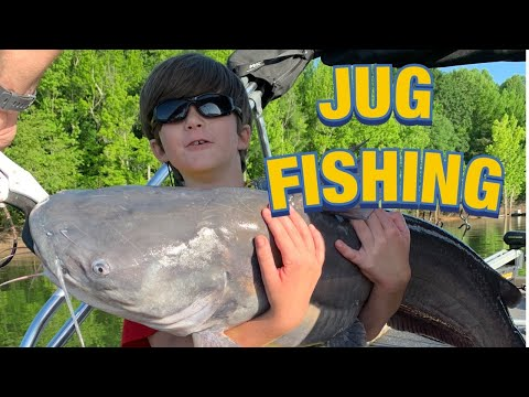 JUG FISHING FOR BLUE CATS