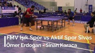 Ömer ERDOĞAN 3 (FMV Işık Spor) - Sinan KARACA 1 (Aktif Spor Sivas)